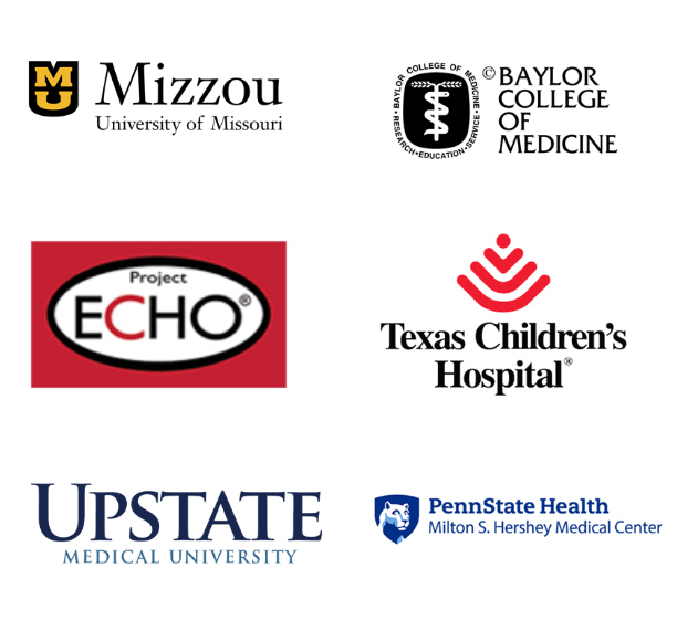 We've partnered with top research and support organizations